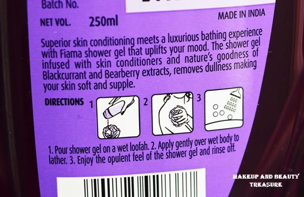 fiama shower gel ingredients