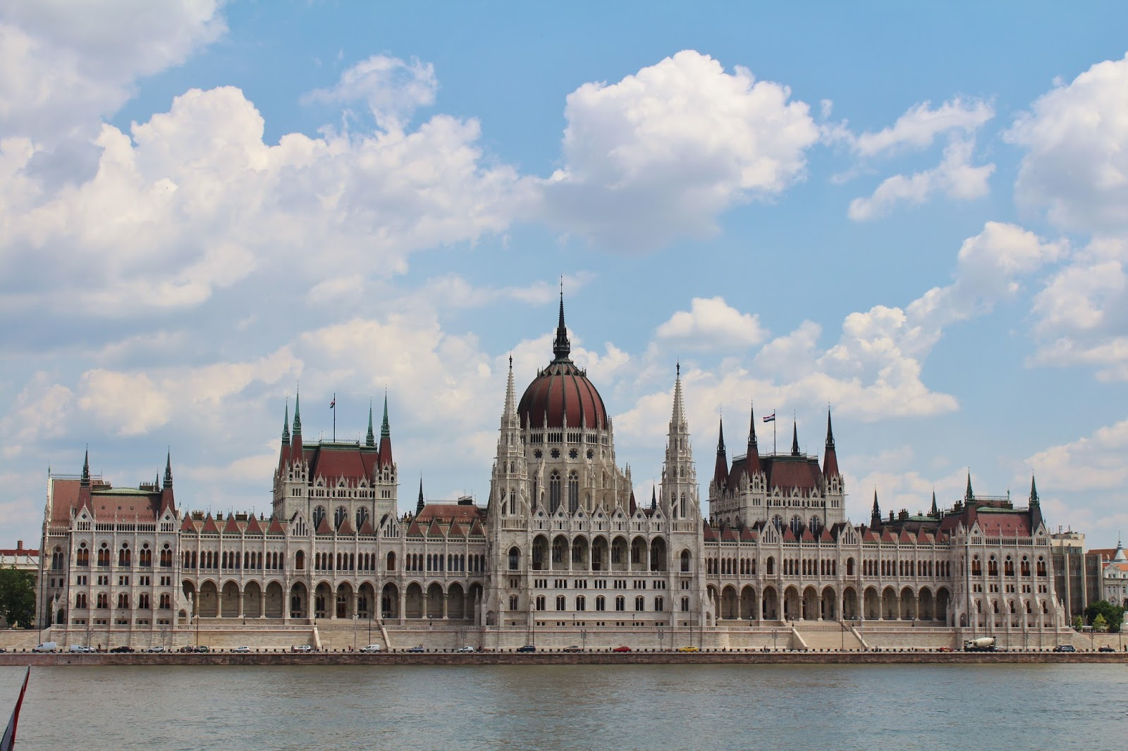 Hungarian Parliament Building besides River Danube, Budapest