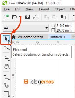 Cara Membuat Gambar Favicon Blog dg CorelDraw