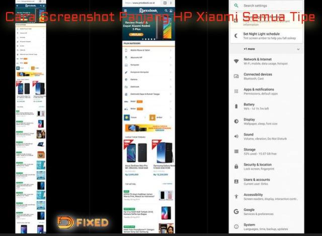 Begini Caranya Screenshot Panjang Xiaomi Untuk Semua Tipe