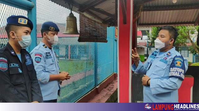 Lapas IIB Kota Agung Gelar Lomba, Guna Asah Kemampuan Petugas Keamanan Hadapi Situasi Darurat