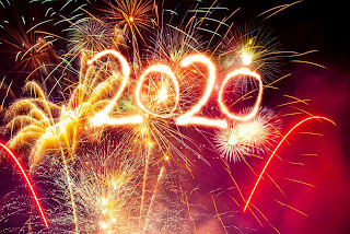Happy New Year 2020 background Download