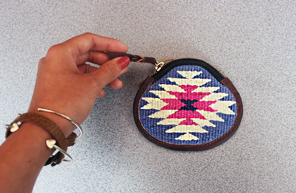 ethno style coin purse