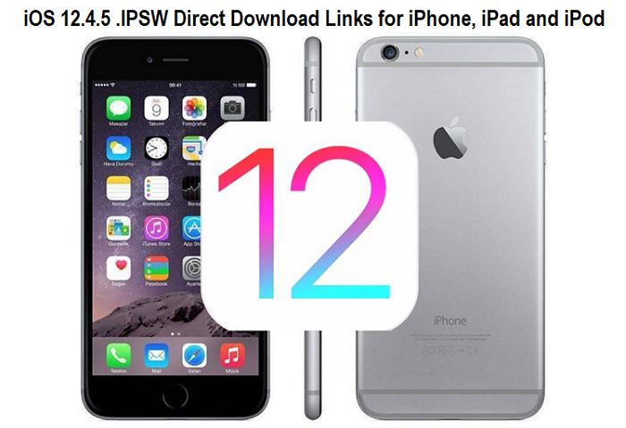 iOS 12.4.5 .IPSW