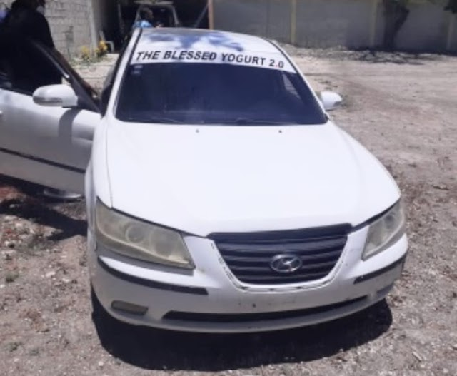 POLICIA NACIONAL RECUPERA VEHÍCULO ROBADO