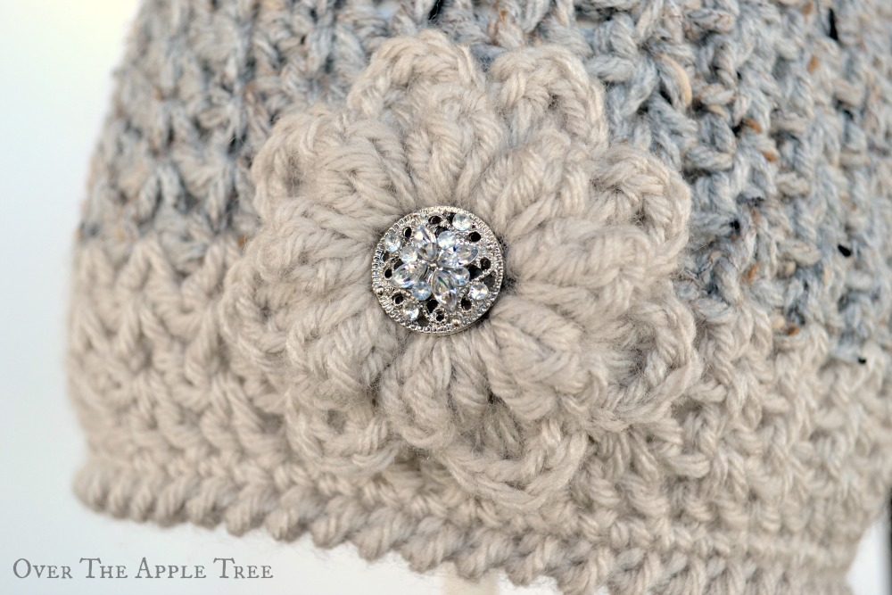 Over The Apple Tree  V-Stitch Winter Beanie a6c705a4ee63
