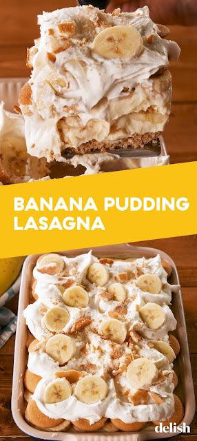 Banana Pudding Lasagna