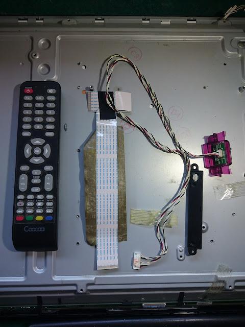 TV LED COOCAA 32-Inch Model 32E39 Panel Menu dan Remote