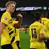 """Teve gol do """"cometa Haaland""""! Borussia Dortmund vence o Revierderby e afunda o Schalke"""