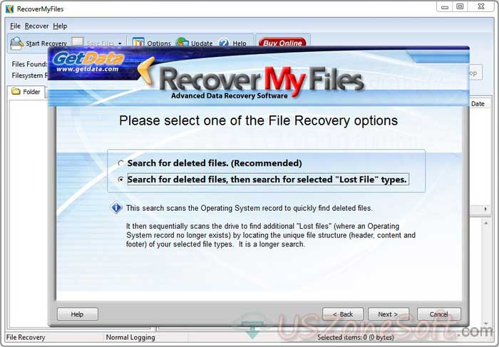 Recover My Files- JBOD RAID RAID-0, RAID-1, RAID-5 recovery program, safe, secure and advanced data recovery software