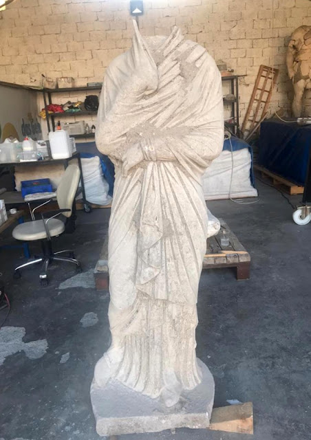 3rd-century statue unearthed in ancient Greek city of Perge