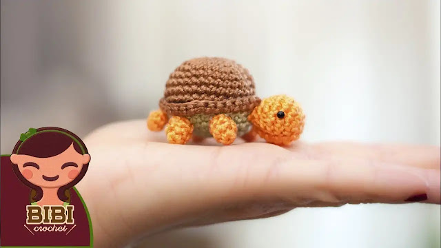 Tutorial Amigurumi Mini Tortuga a Crochet