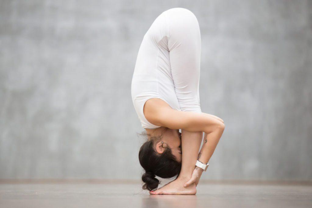 Đây là bài tập yoga Uttanasana