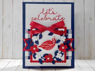 Fantastic Friday - Arrange A Wreath July 4th Card