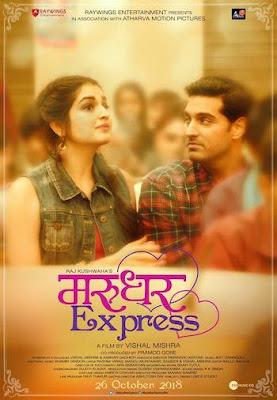 Marudhar Express 2019 Hindi 720p HDRip 850mb
