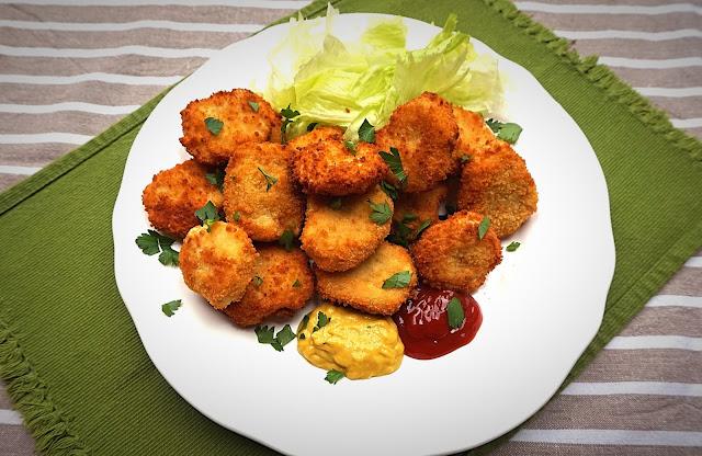 Nuggets de pollo, receta fácil y rápida.