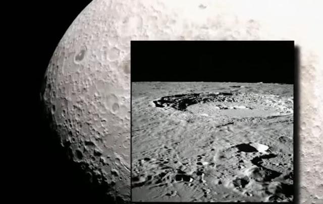 Alien Base on Moon