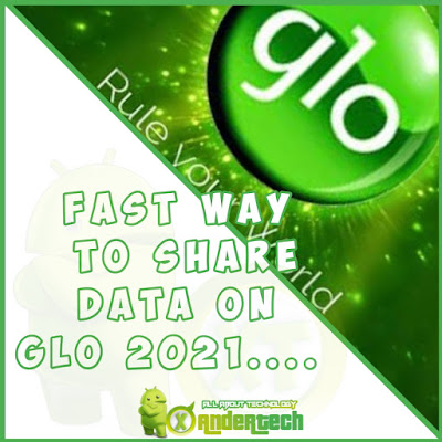 Fast way to share data on Glo 2021