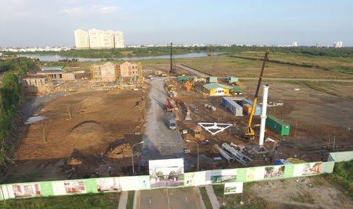 Dự án Nine South Estates chuẩn bị ra mắt khu biệt thự cao cấp mẫu