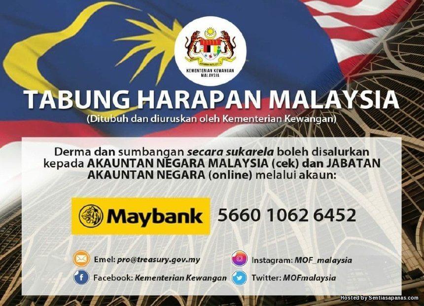 Tabung Harapan Malaysia Bantu Kerajaan Bayar Hutang Negara