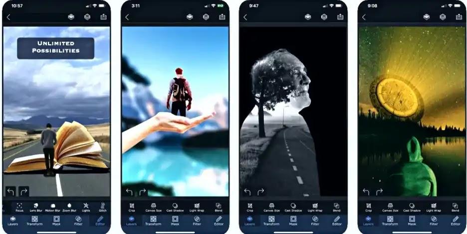 Image editing software-أفضل برامج تعديل الصور للأيفون والأندرويد: تصميم أحترافي