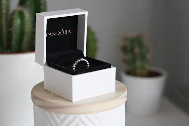 PANDORA STACKABLE RING IN BOX