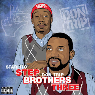 Starlito & Don Trip - Step Brothers Three - Album Download, Itunes Cover, Official Cover, Album CD Cover