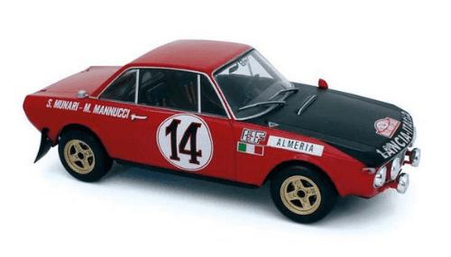 WRC collection 1:24 salvat españa, Lancia Fulvia HF 1:24