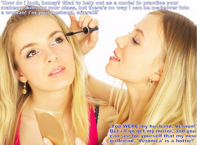 Veronica is born - Sissy TG Caption