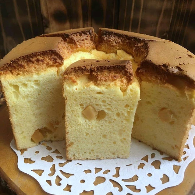 Resep Praktis Membuat Cheese Chiffon Cake Tanpa Ribet