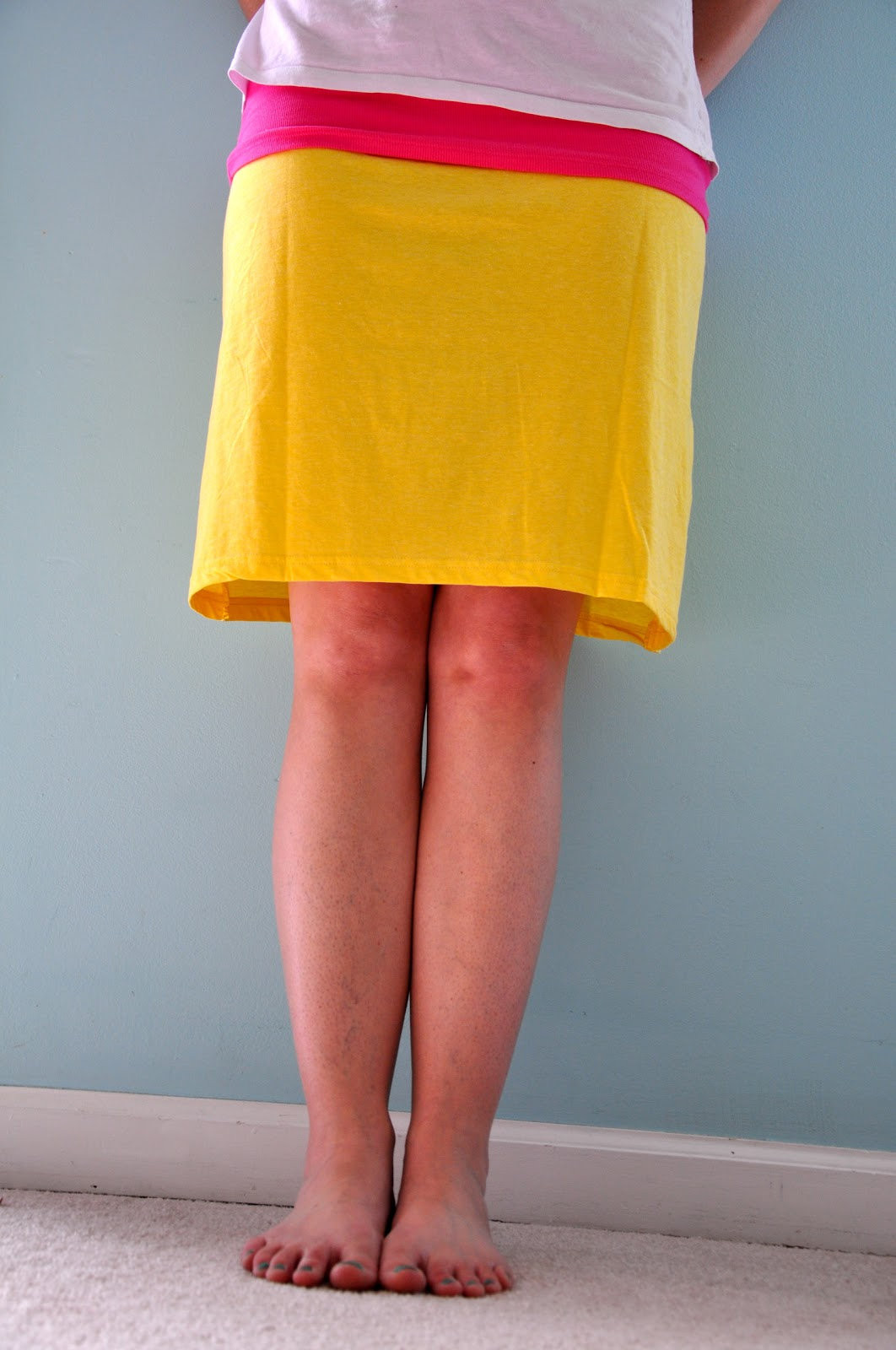 How To Make A T Shirt Skirt 60
