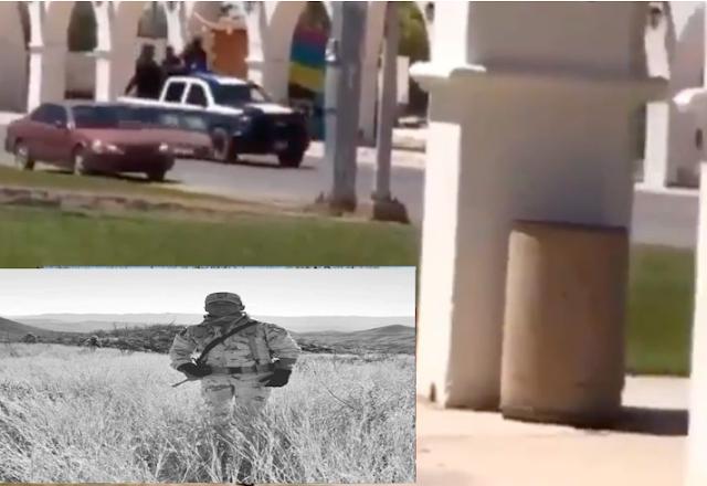 Video: Así fue el enfrentamiento en Caborca, Sonora 8 muertos entre ellos un militar de 23 años , emboscados cobardéeme por más de 60 Sicarios