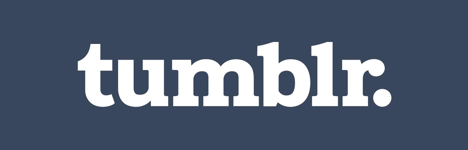 Tumblrのロゴマーク