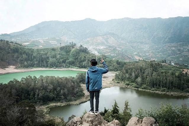 Telaga Warna Dieng Wonosobo
