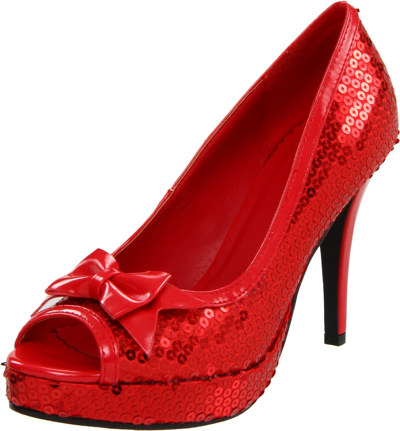 Dorothy Red Glitter Shoes