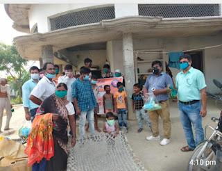 #VBSPU : स्वयंसेवक-सेविकाओं ने कोरोना संक्रमण से किया जागरूक | #NayaSaberaNetwork