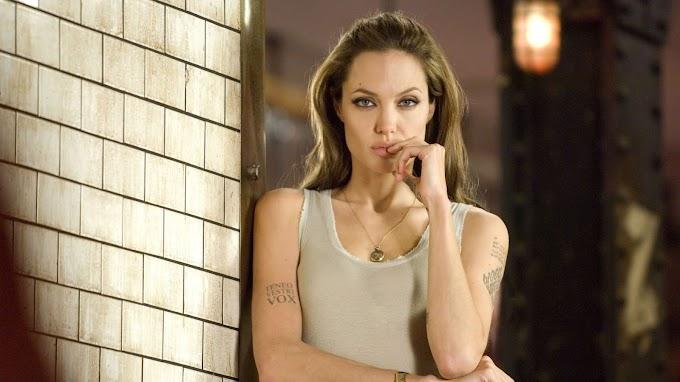 Papel de Parede Angelina Jolie