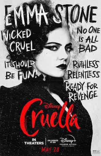 Cruella 2021 480p 400MB BRRip Dual Audio [Hindi - English] MKV