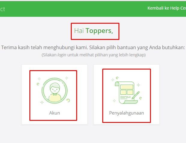 Customer Service Tokopedia Lewat Online Form Terbaru 2019