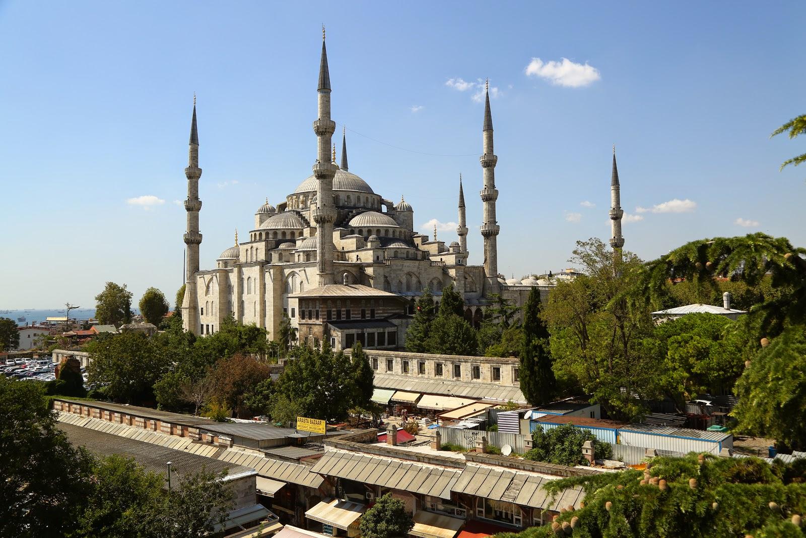 Photo Trek Istanbul: Sultanahmet Mosque - Blue Mosque