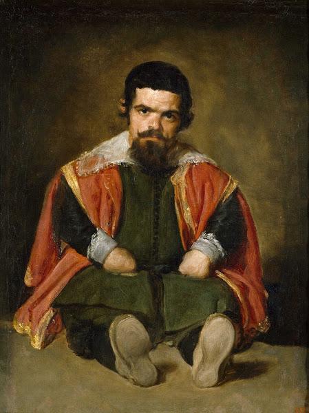 Диего Веласкес - Портрет шута Себастьяна де Морры (ок.1646)