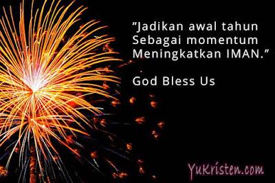 kata rohani kristen tahun baru