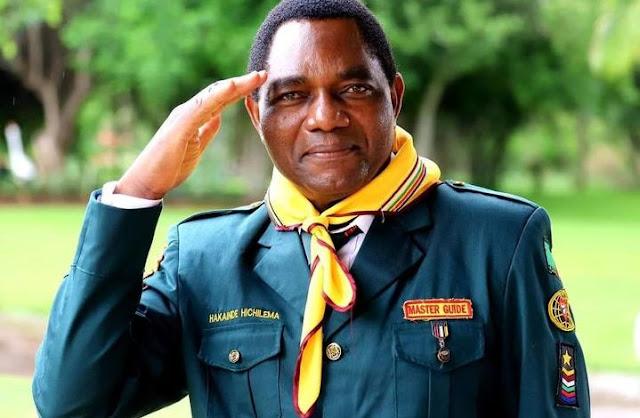 Hakainde Hichilema - presidential election