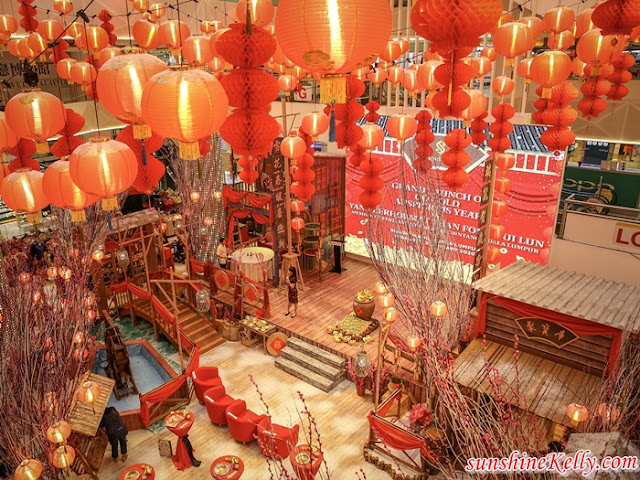 Sungei Wang, A Go Gold Auspicious Year, CNY 2020, CNY Shopping Mall Decorations, Shopping Malls in KL, Lifestyle