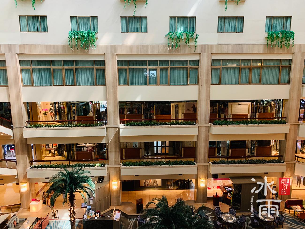 台北福華大飯店|中庭