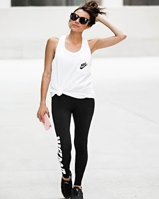 outfit deportivo blanco y negro tumblr casual informal