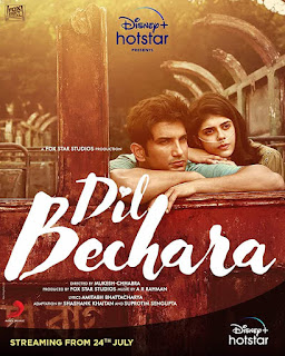 Download Dil Bechara (2020) Hindi Full Movie HDRip 1080p | 720p | 480p | 300Mb | 700Mb
