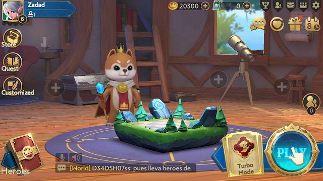 Berapa Total Size Game Android Chess Rush Dari Tencent
