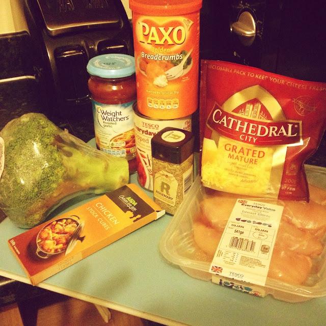 Weight watchers chicken and broccoli cheesy bake recipe ingredients