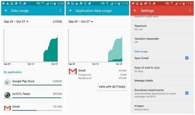 Hapus Aplikasi yang banyak Mengkonsumsi data